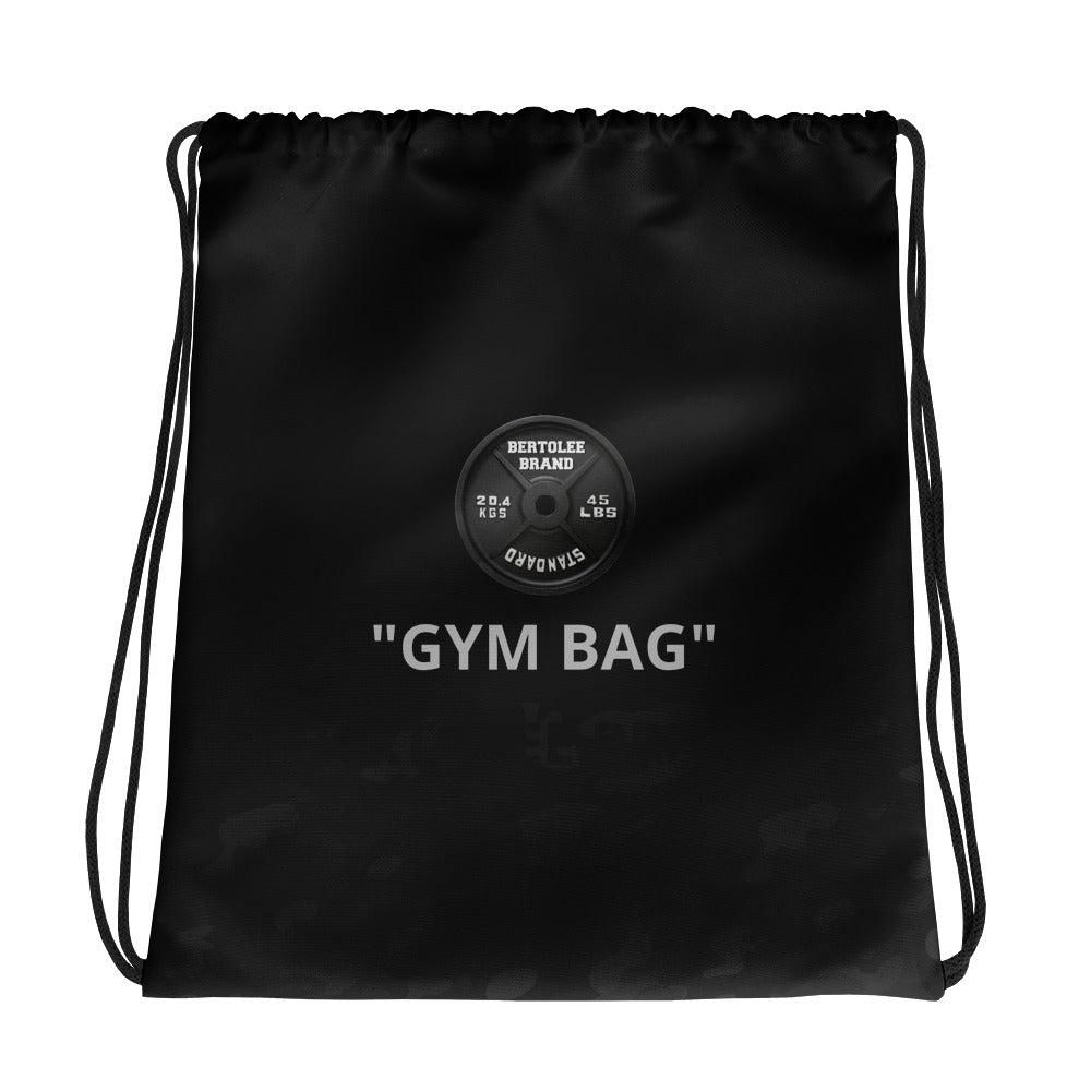 Gym Carry-All Drawstring bag, BAGS, Bertolee Brand