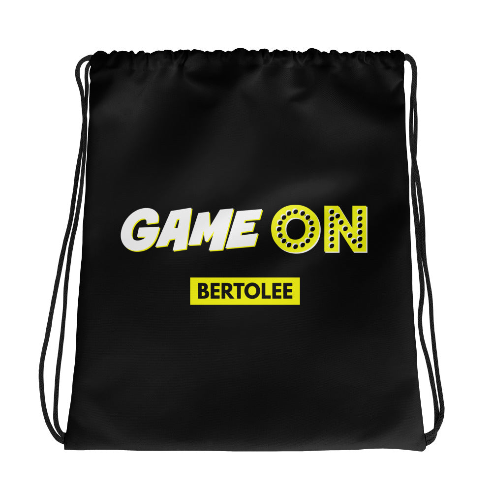 GAME ON Drawstring bag, BAGS, Bertolee Brand