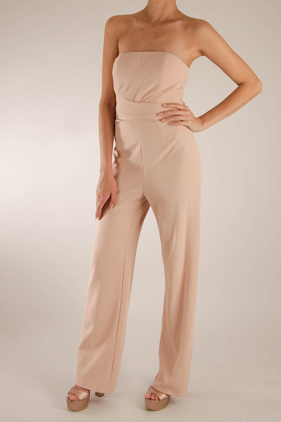 Jumpsuit strapless tubo