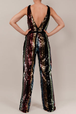 Jumpsuit v multi