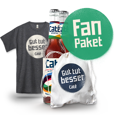 Das ultimative Caté-Fan-Paket