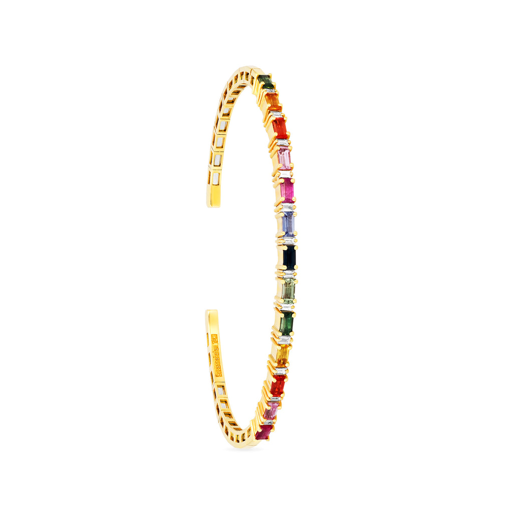 RAINBOW FIREWORKS HORIZONTAL BANGLE