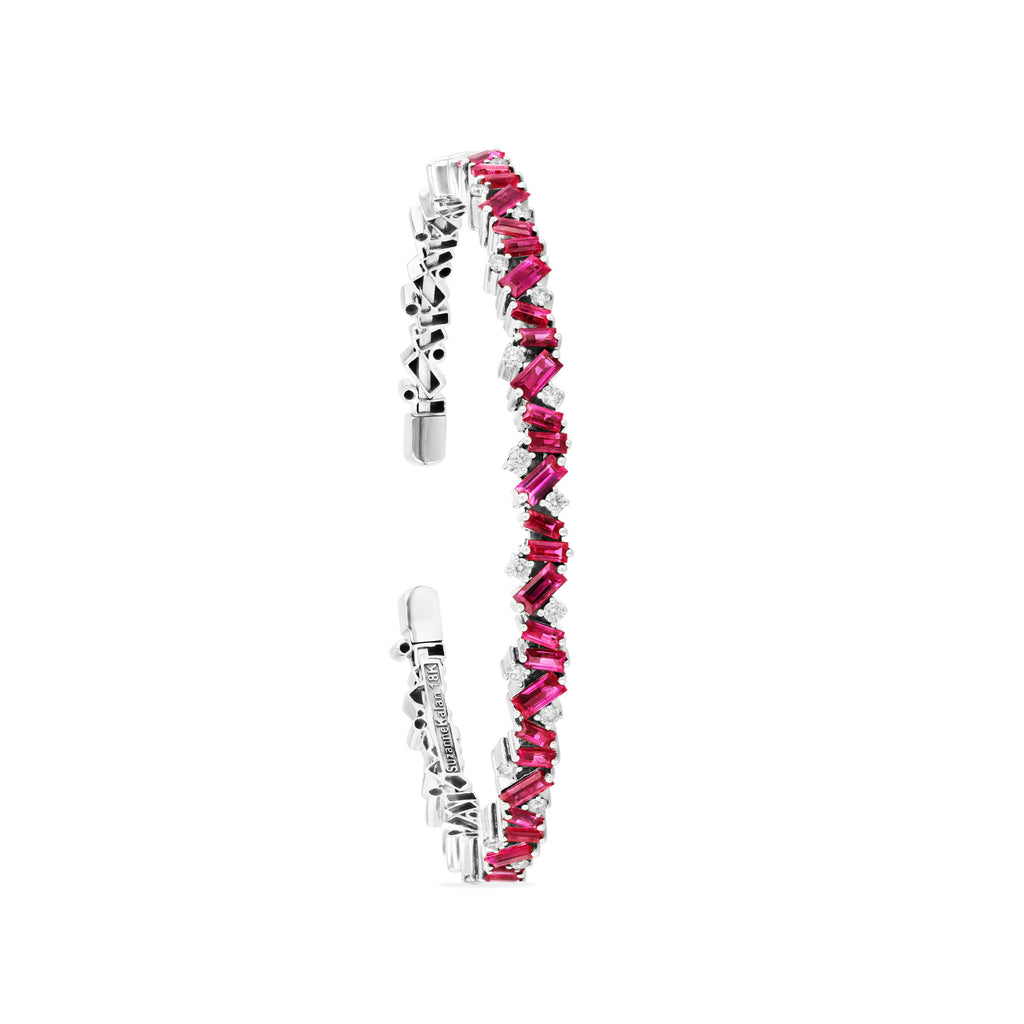 RUBY FRENZY BANGLE