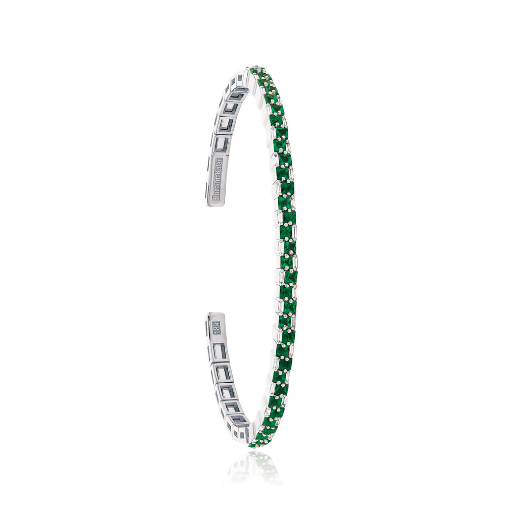 EMERALD STACKED BANGLE