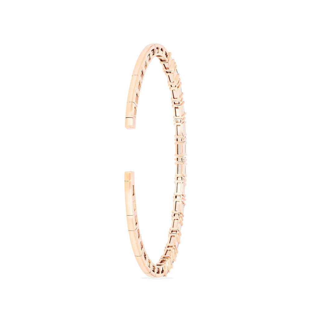 DIAMOND HORIZONTAL BANGLE
