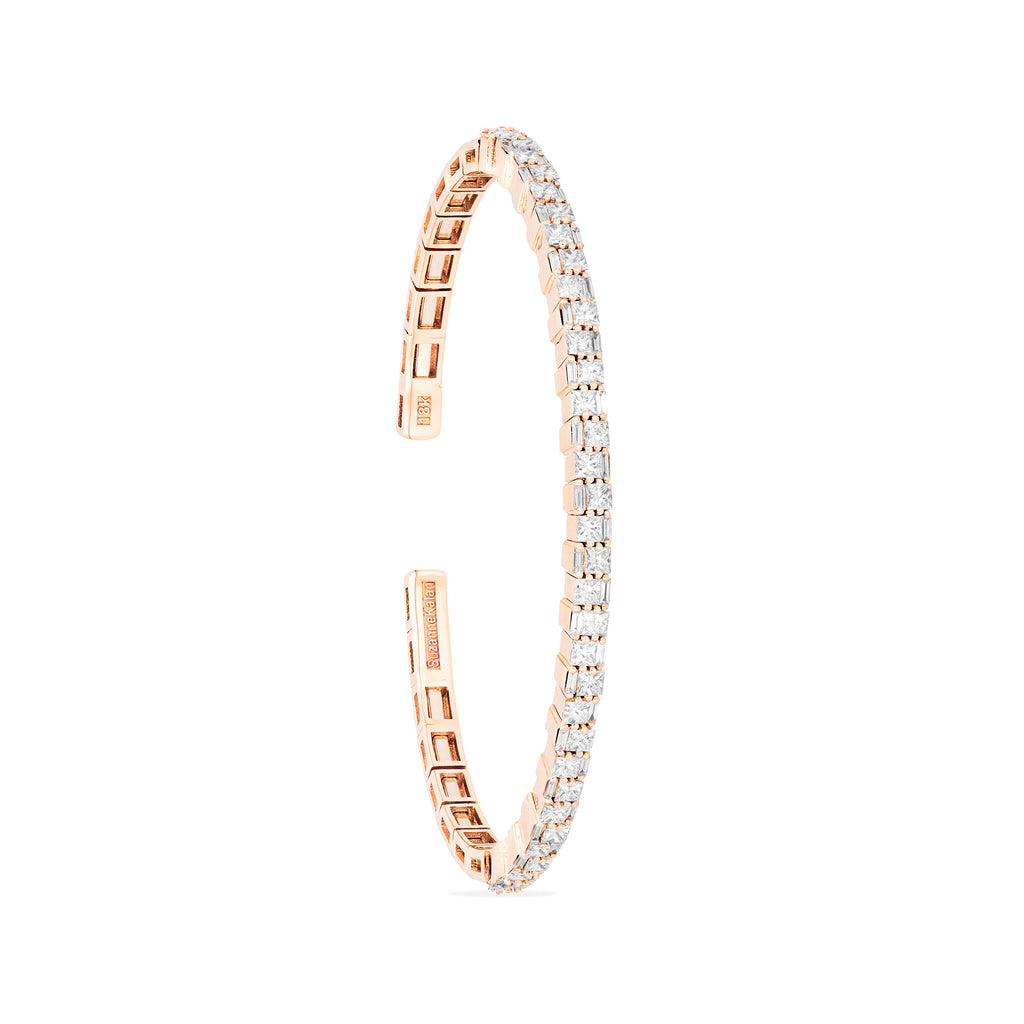 DIAMOND STACKED BANGLE