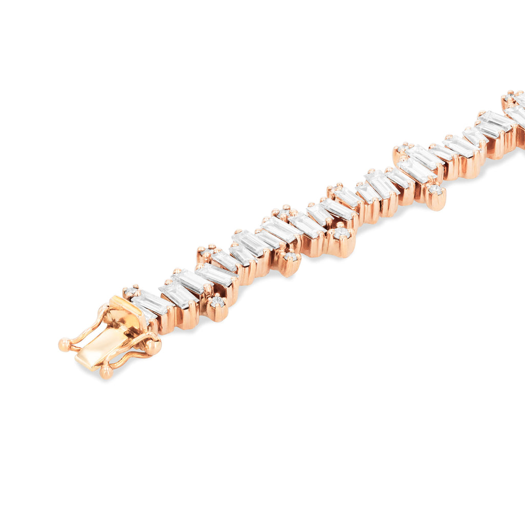 DIAMOND BURST TENNIS BRACELET