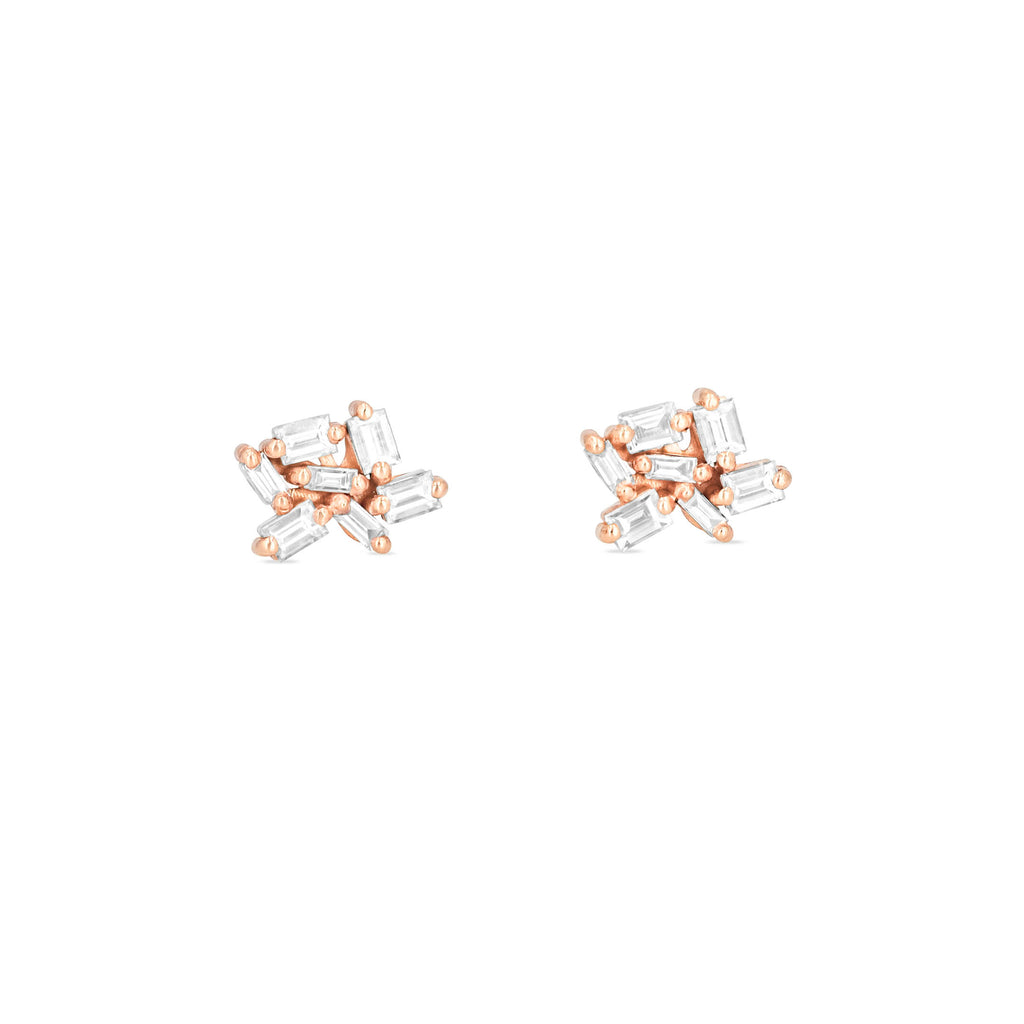 SMALL CLUSTER FIREWORKS STUD EARRINGS