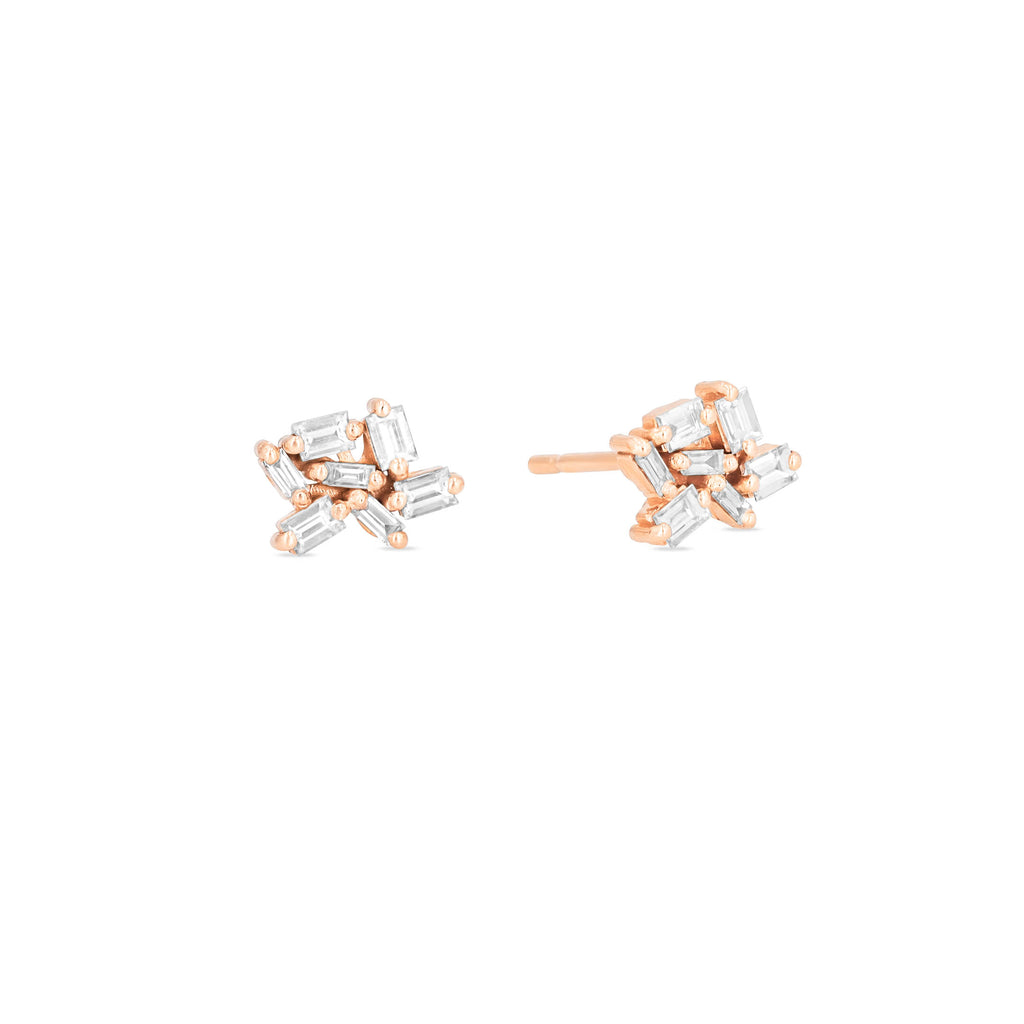 SMALL CLUSTER FIREWORKS STUD EARRING