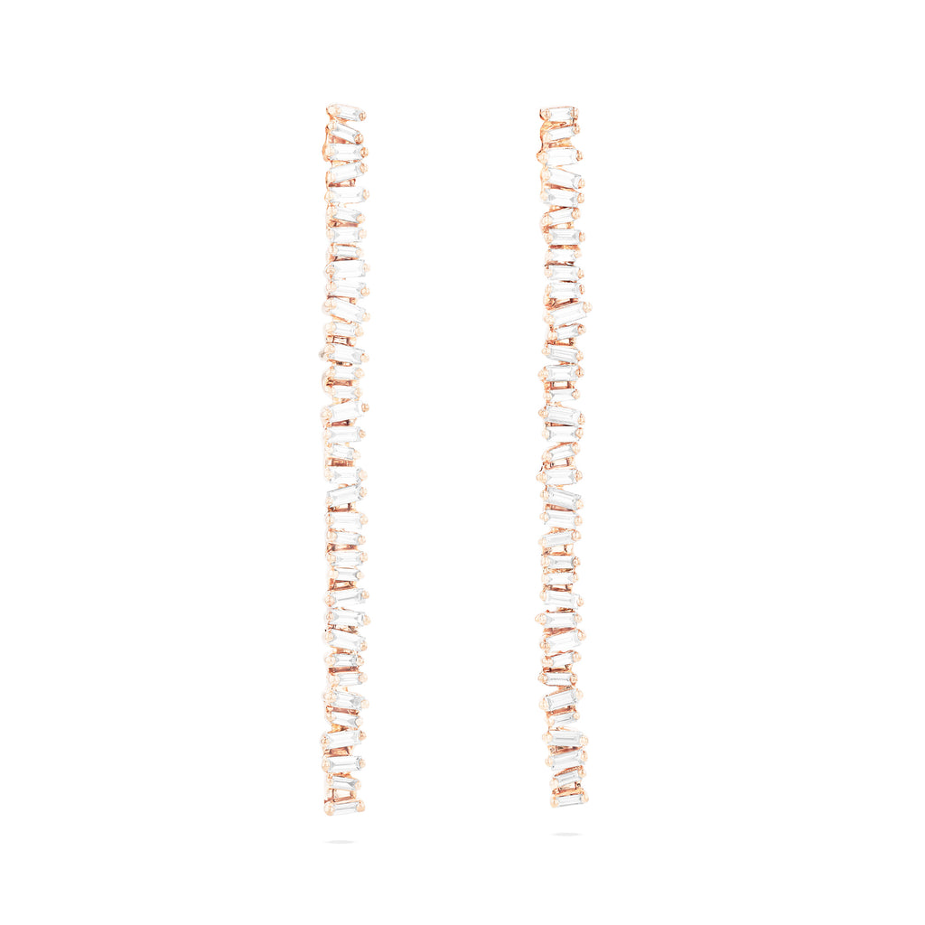 SAVANNAH LARGE BAGUETTE EARRINGS