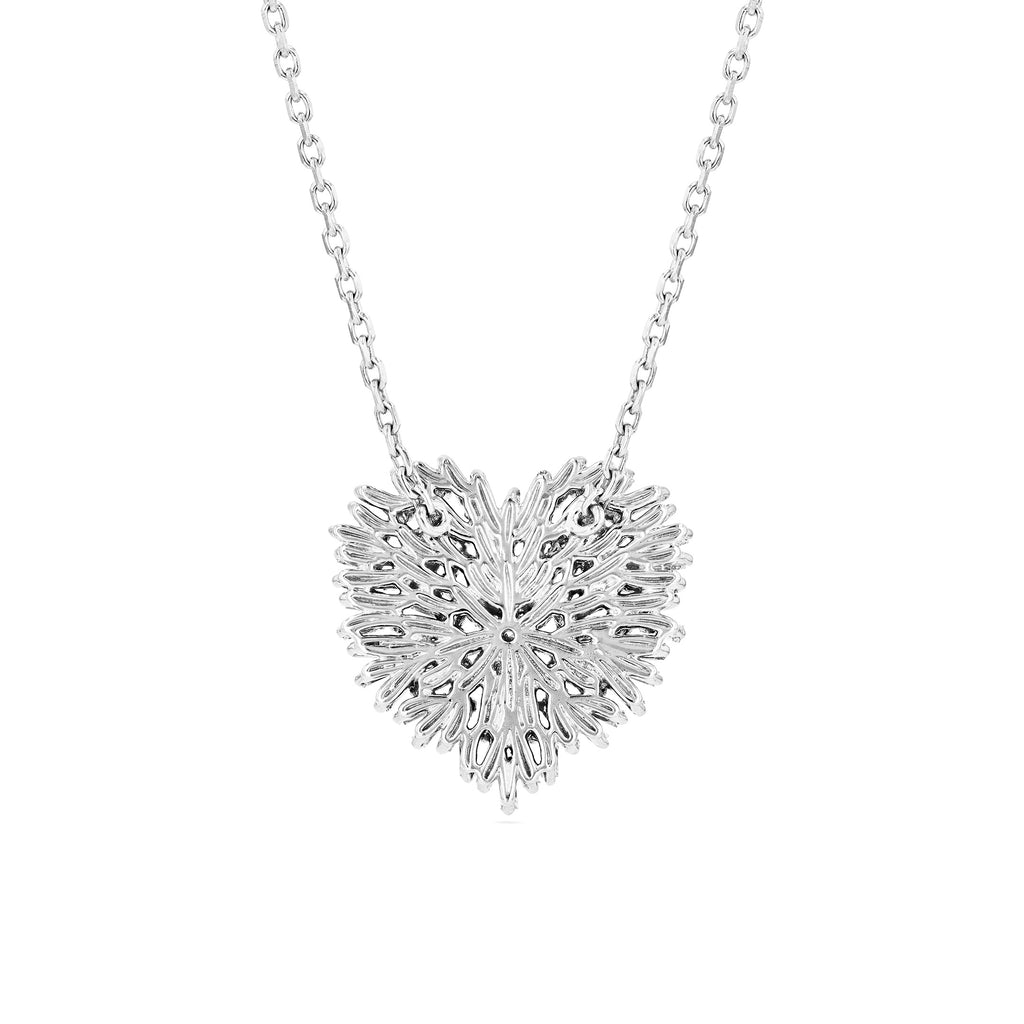 FIREWORKS MEDIUM HEART PENDANT