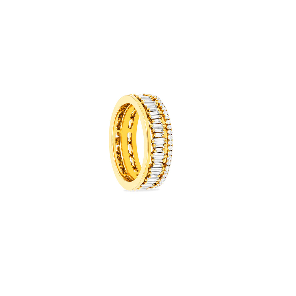 TRADITIONAL SHORT STACK ETERNITY BAND