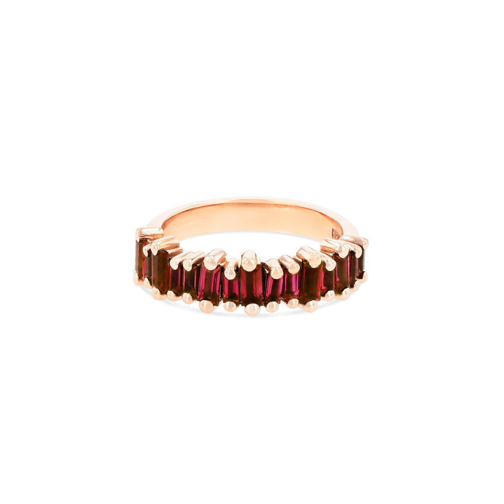 RUBY BAGUETTE HALF BAND