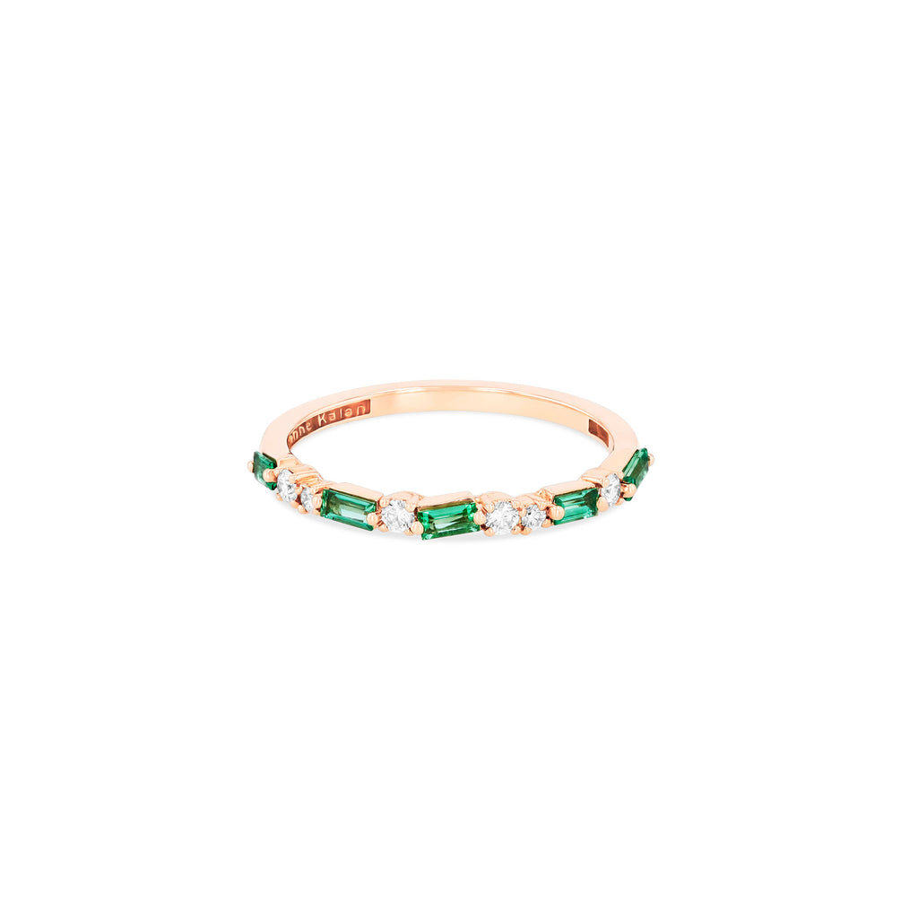 EMERALD THIN MIX HALF BAND