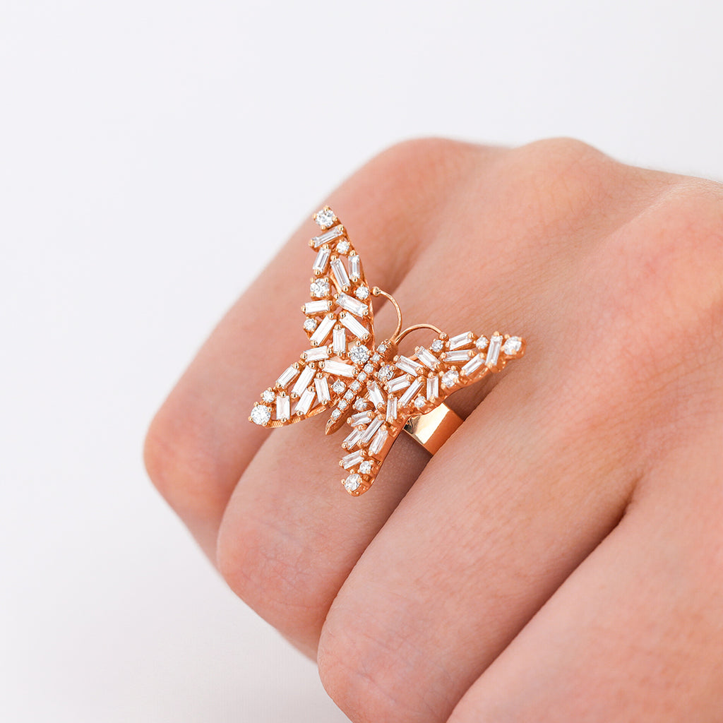 MEDIUM PETITE BUTTERFLY RING