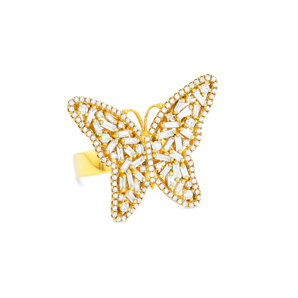 MEDIUM BUTTERFLY RING