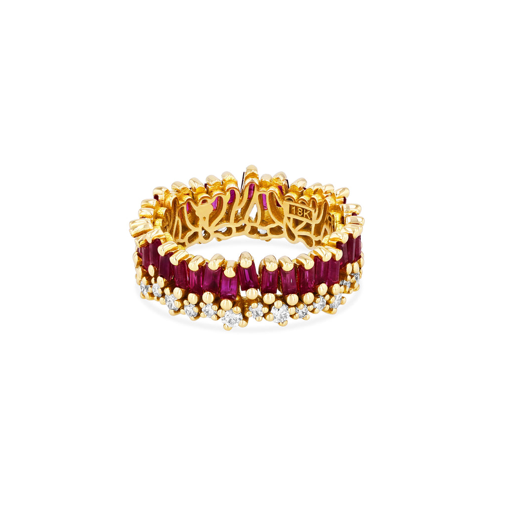 SHORT STACK RUBY ETERNITY BAND