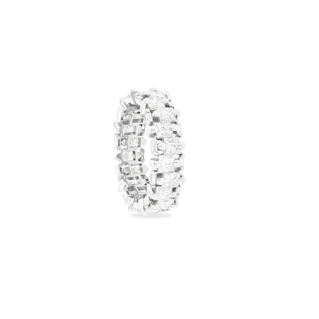 SCARLETT PRINCESS CUT ETERNITY BAND