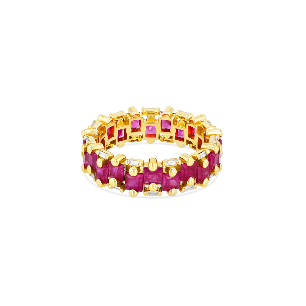 PALOMA RUBY ETERNITY BAND