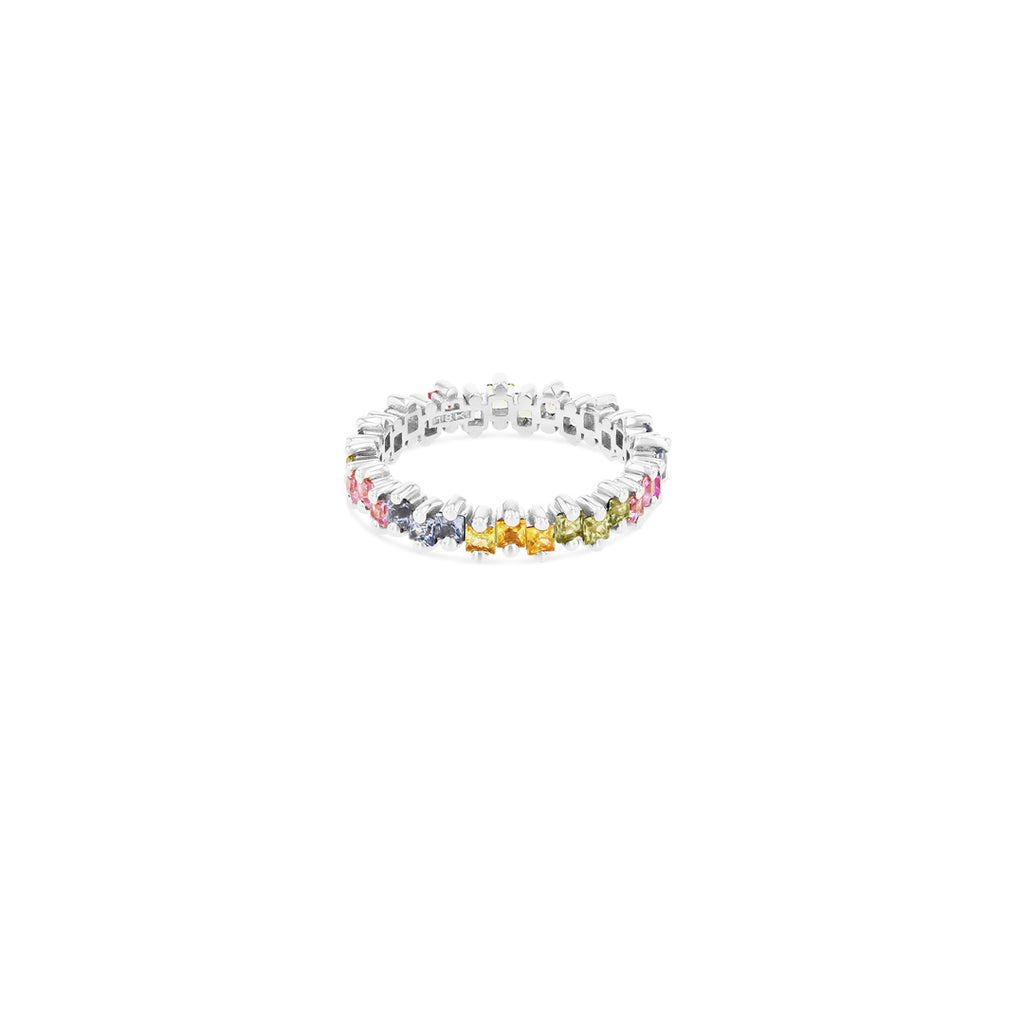 Aria Pastel Sapphire Eternity Band