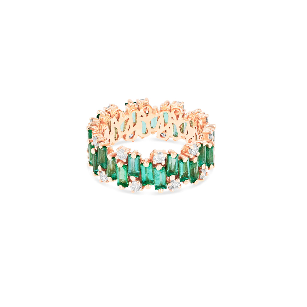 AUDREY EMERALD RING