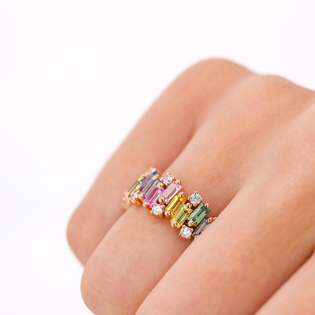 AUDREY PASTEL SAPPHIRE RING