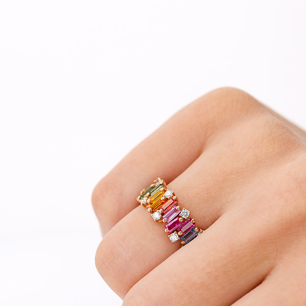 AUDREY RAINBOW RING