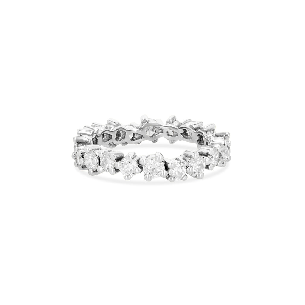 MEDIUM STARBURST ETERNITY BAND