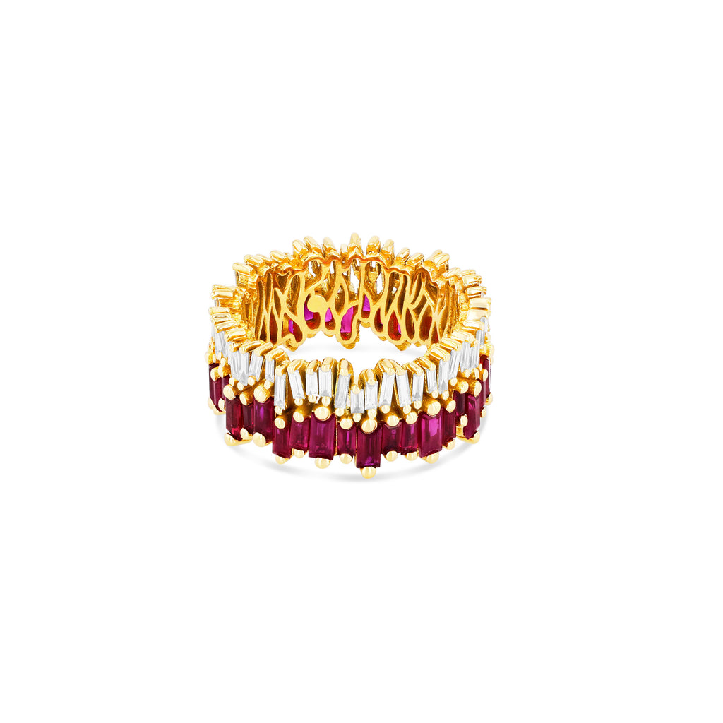 VERA RUBY ETERNITY BAND