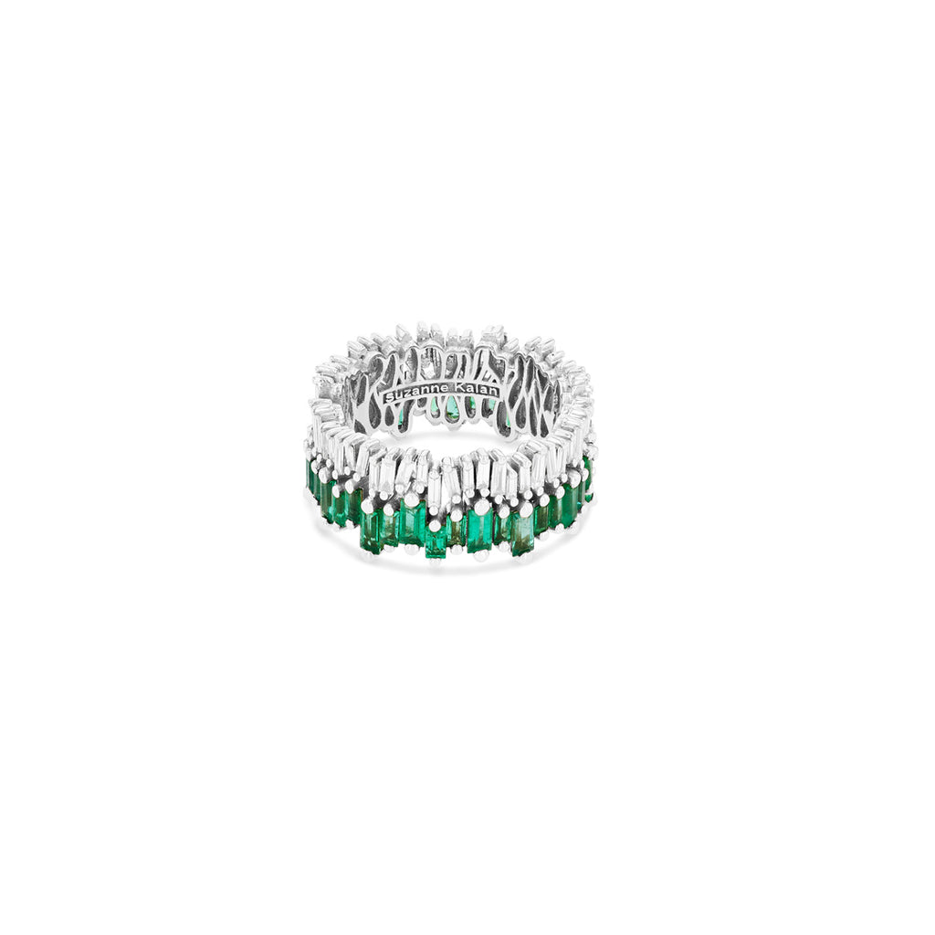 Vera Emerald Eternity Band