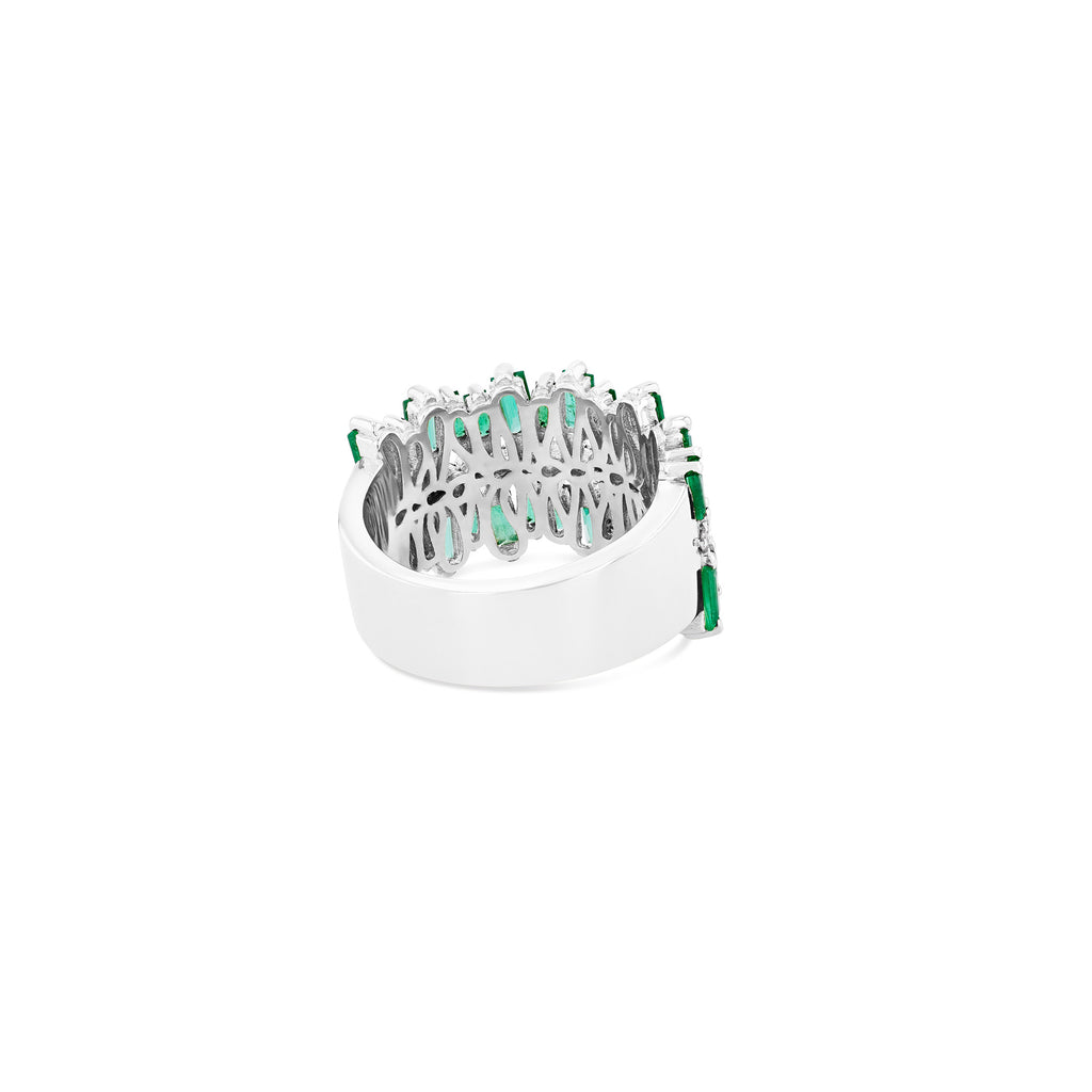 SANSA EMERALD HALF BAND