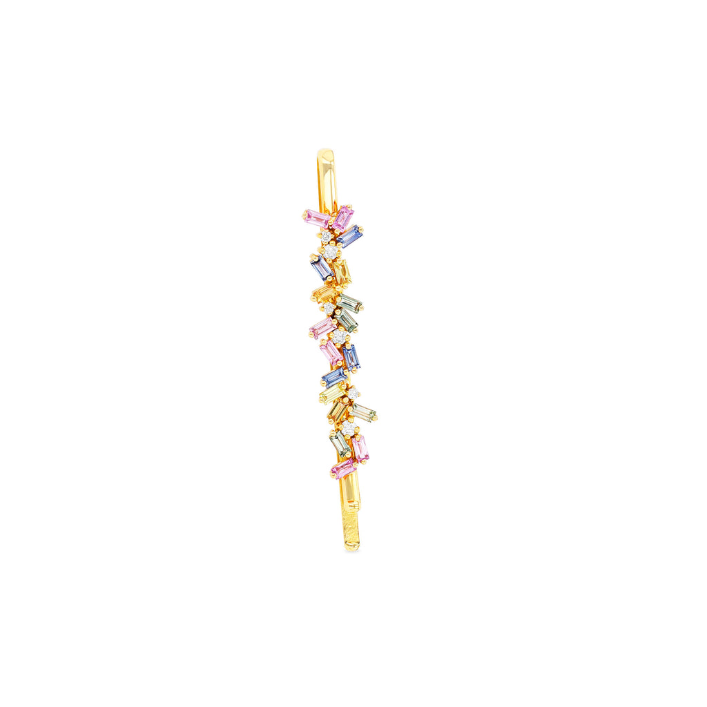 PASTEL FIREWORKS SAPPHIRE HAIRPIN
