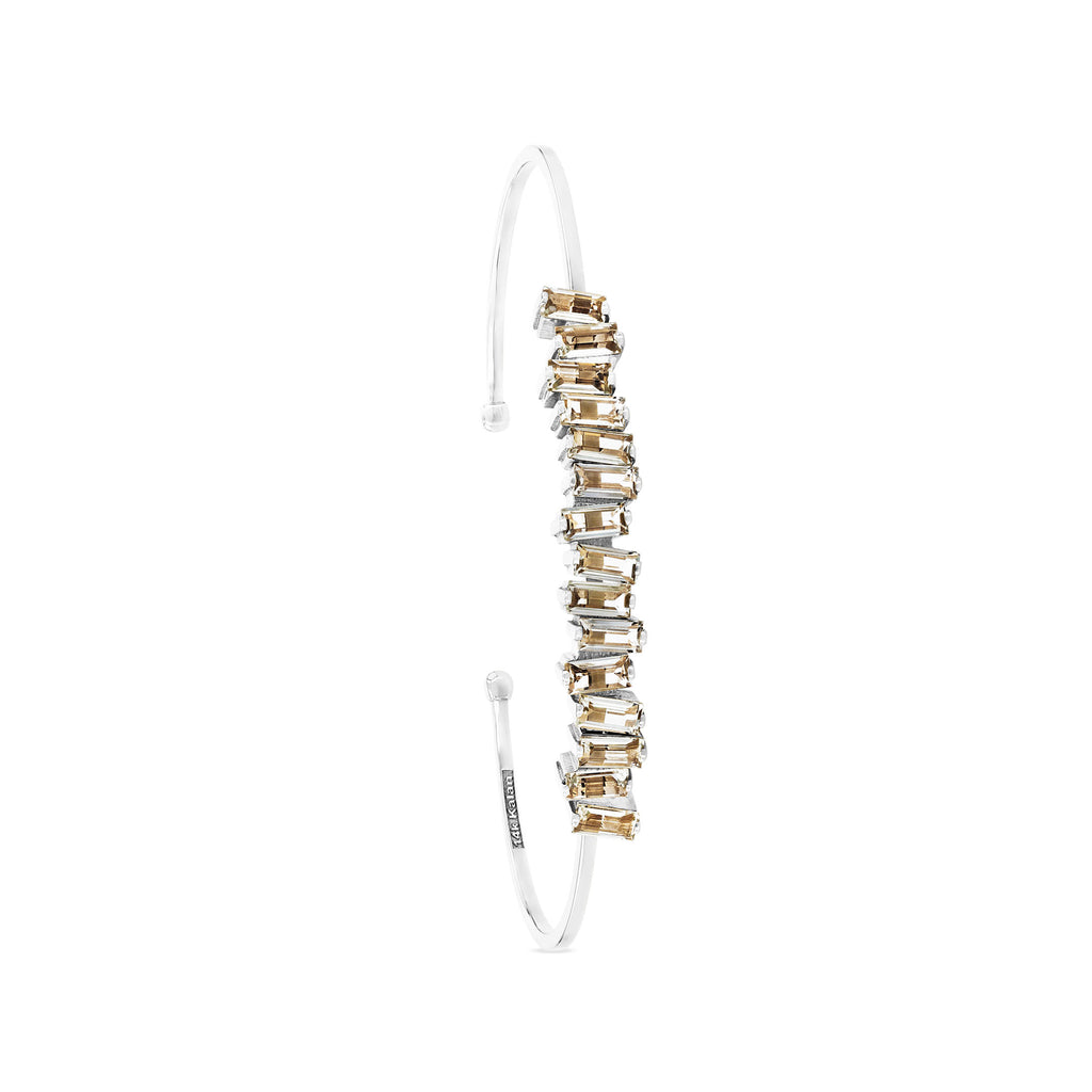 ELIZA GREEN AMETHYST BANGLE