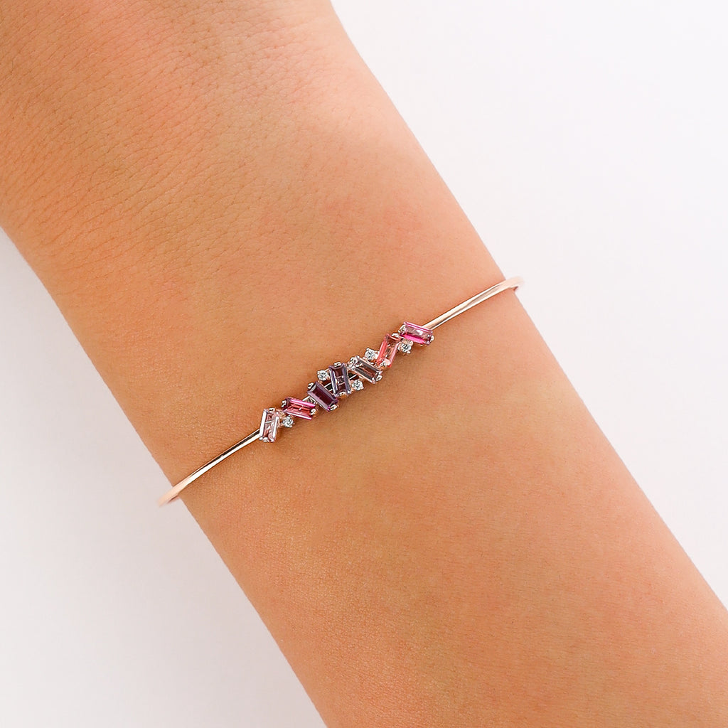 JULIA PINK MIX BANGLE