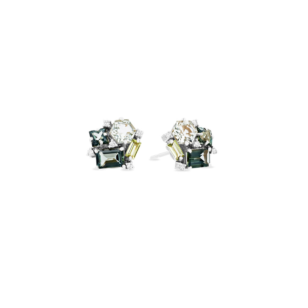BLOSSOM GREEN MIX STUDS