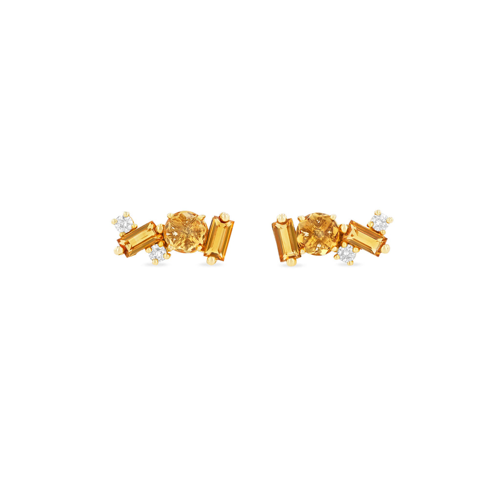JOCELYN CITRINE STUDS