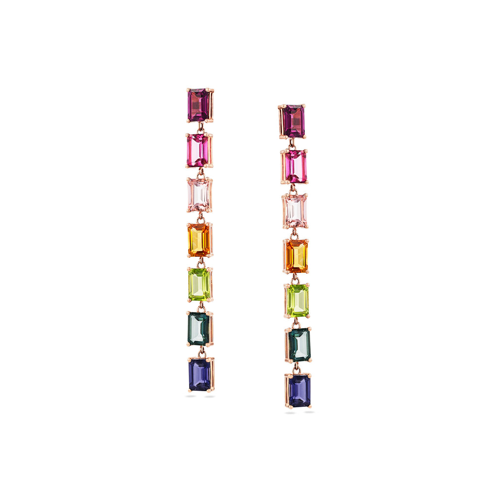 GEMMA RAINBOW DROP EARRINGS