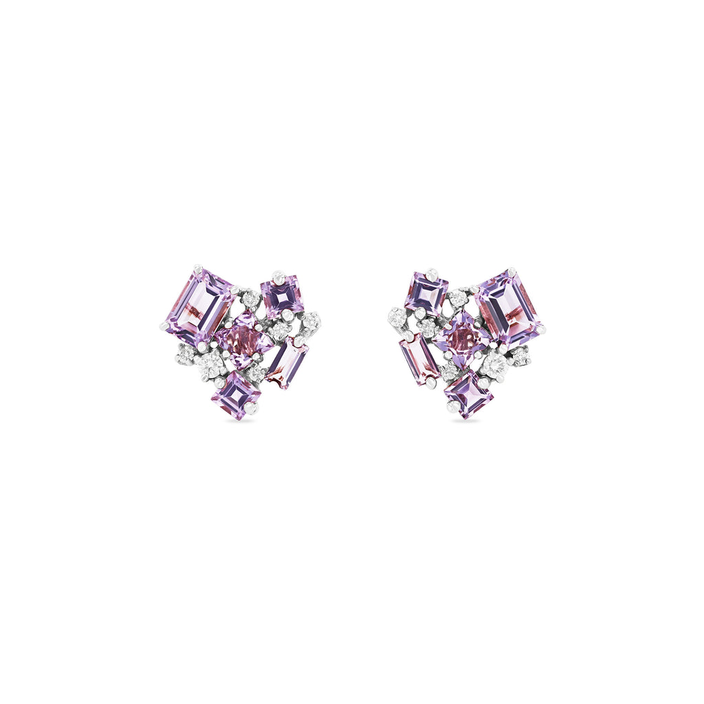 ROSE DE FRANCE LOVE EARRINGS