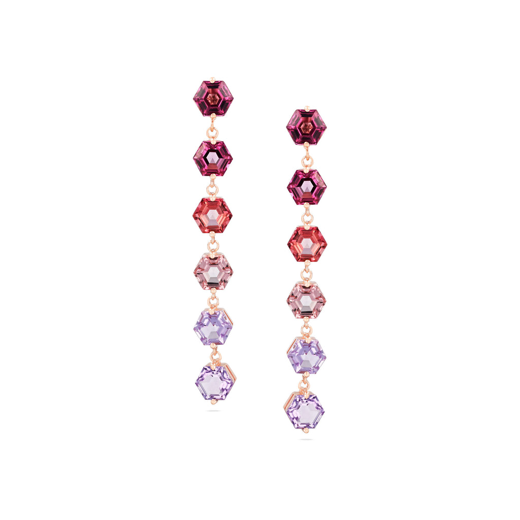 PORTIA PINK OMBRE EARRING