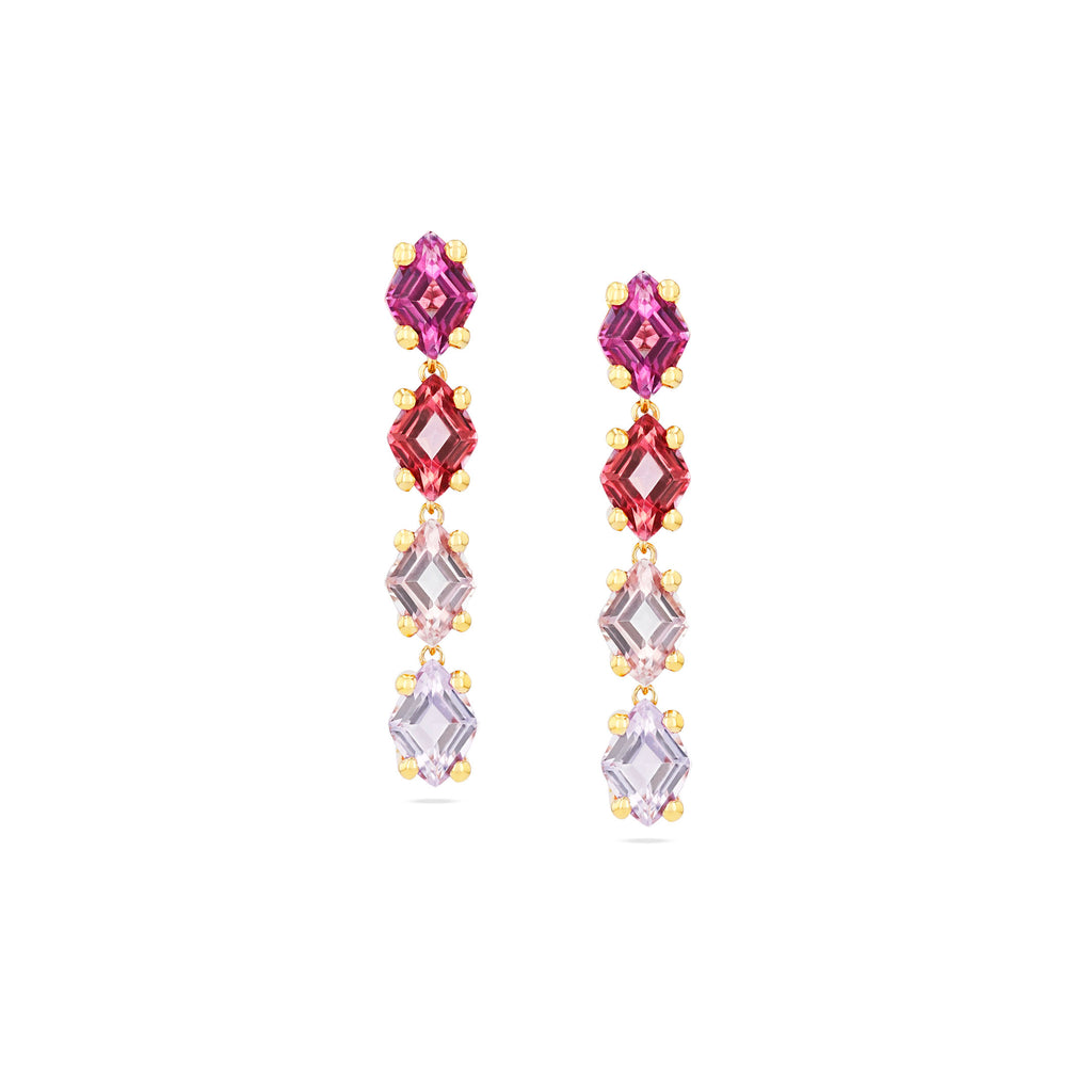 LUNA PINK OMBRE EARRING