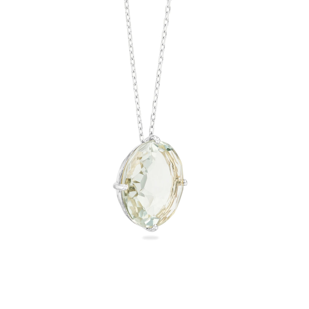 CLASSIC GREEN AMETHYST NECKLACE