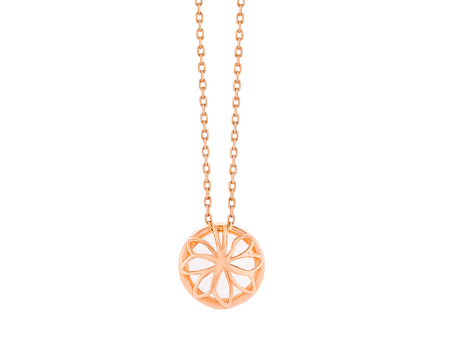 14K ROSE GOLD AMALFI RISING PENDANT