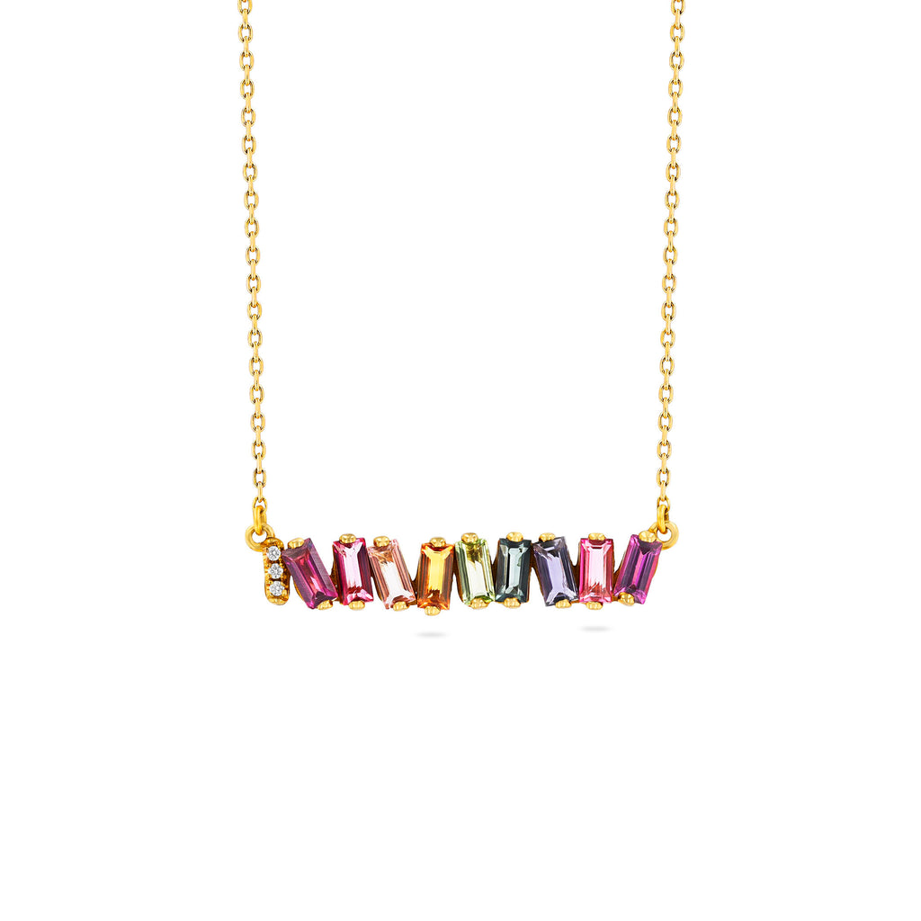 HALLIE RAINBOW NECKLACE
