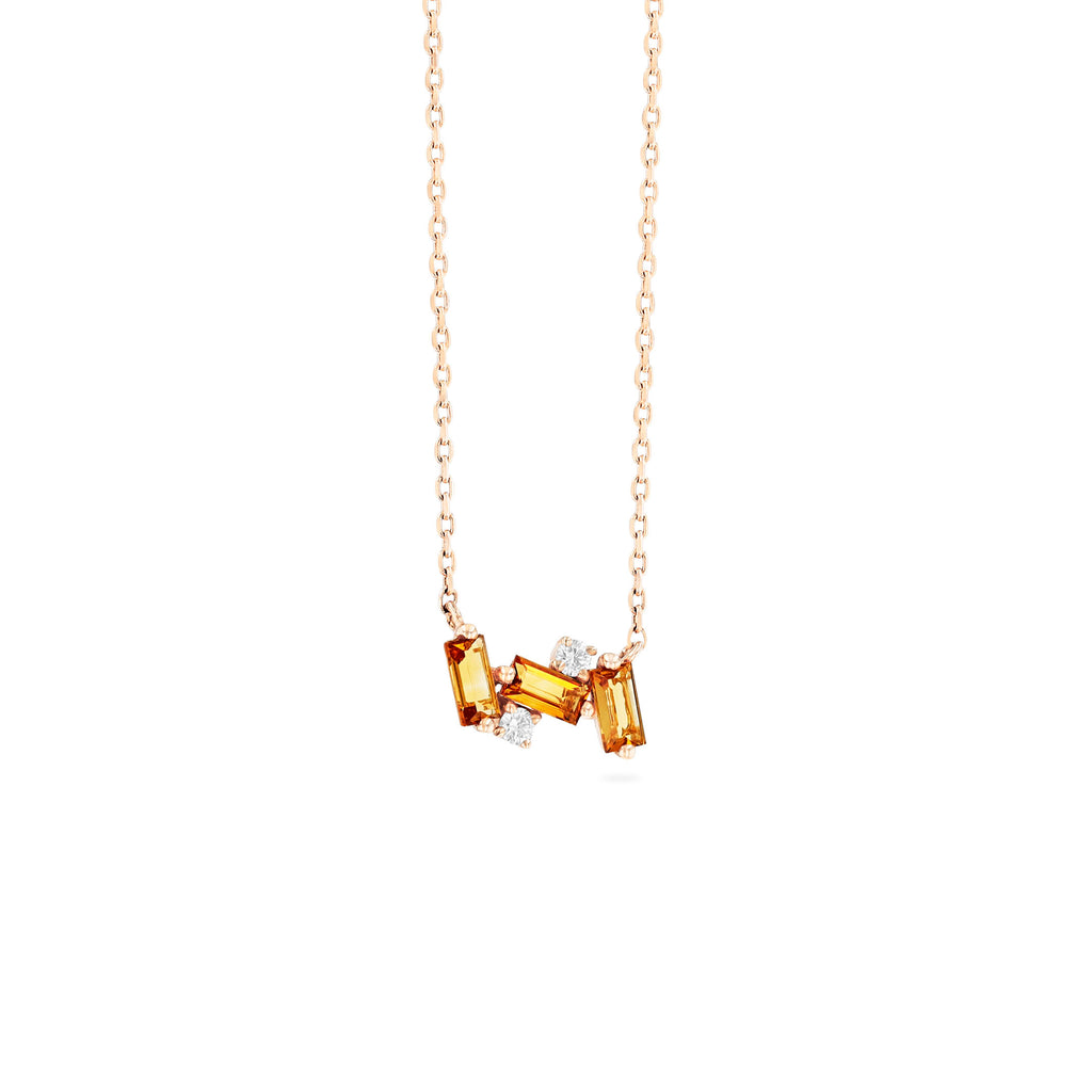 NOLA CITRINE NECKLACE