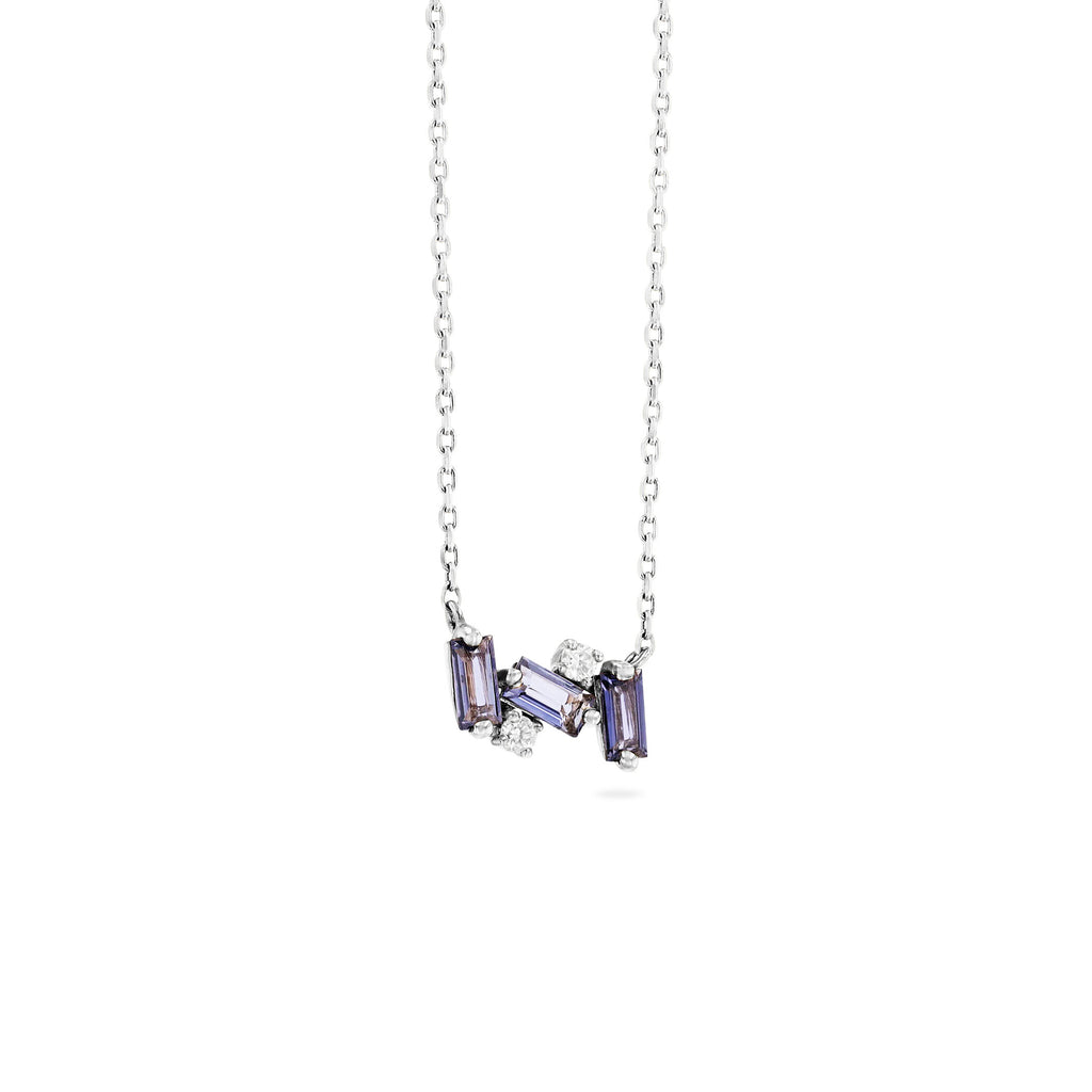 NOLA IOLITE NECKLACE