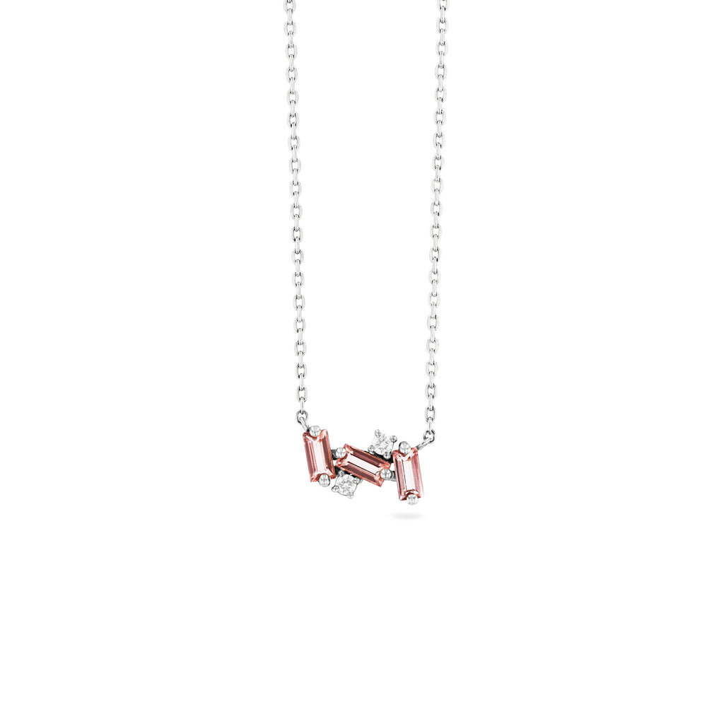 NOLA MORGANITE TOPAZ NECKLACE
