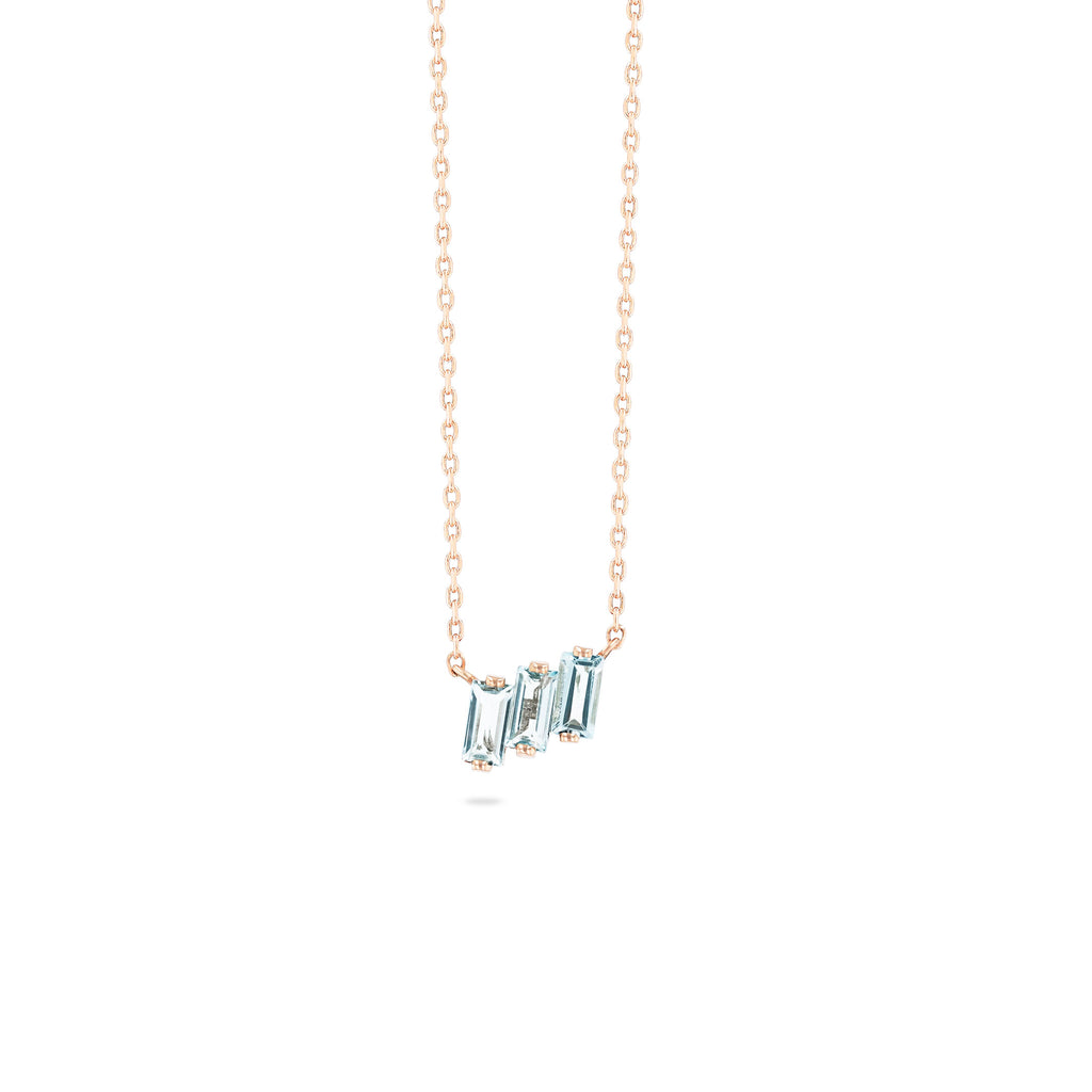 ELLE BLUE TOPAZ NECKLACE
