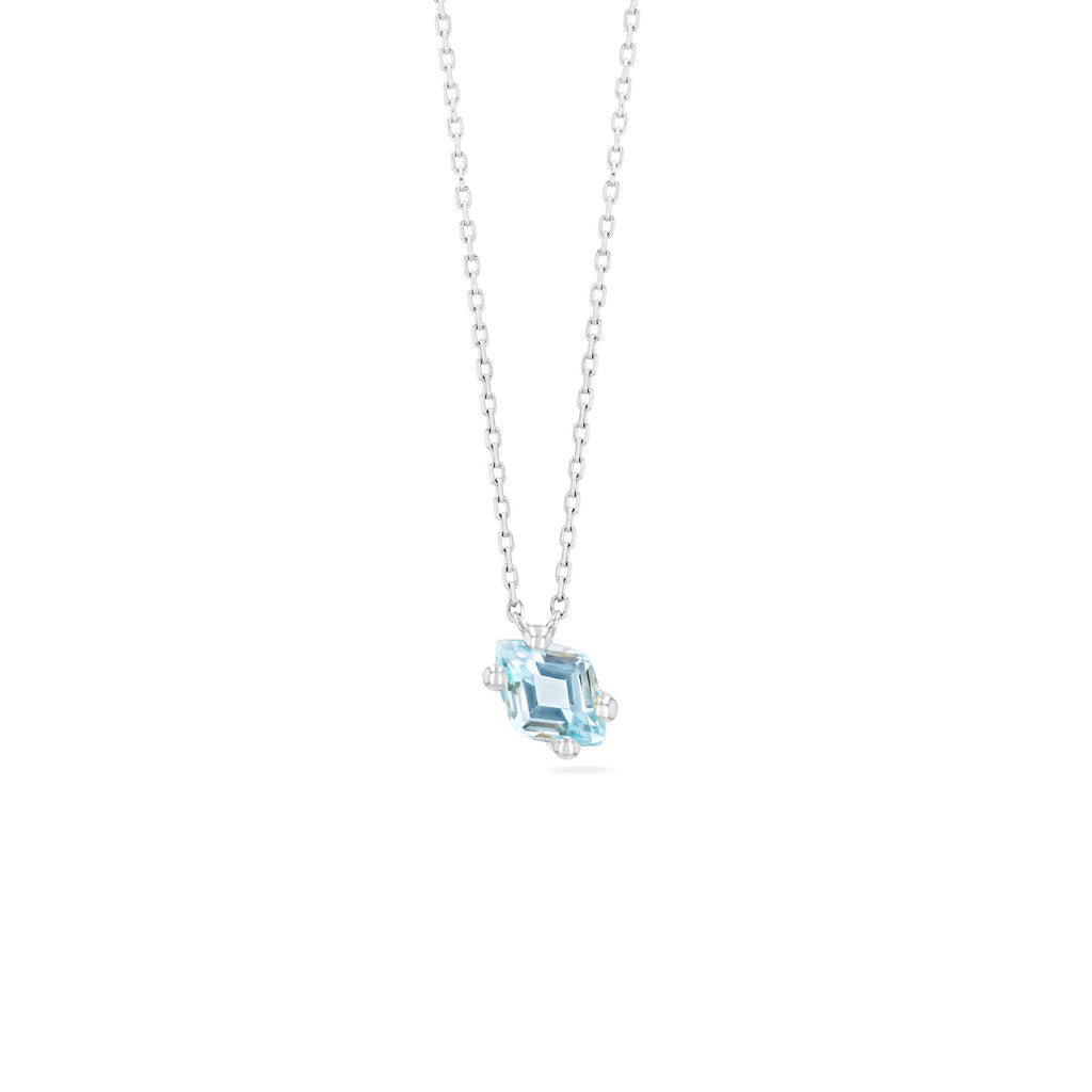CRETE BLUE TOPAZ NECKLACE
