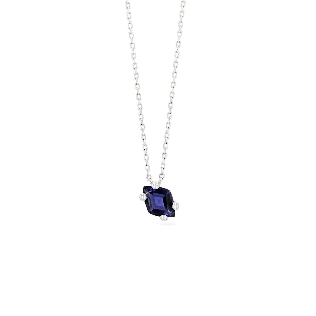 CRETE IOLITE NECKLACE