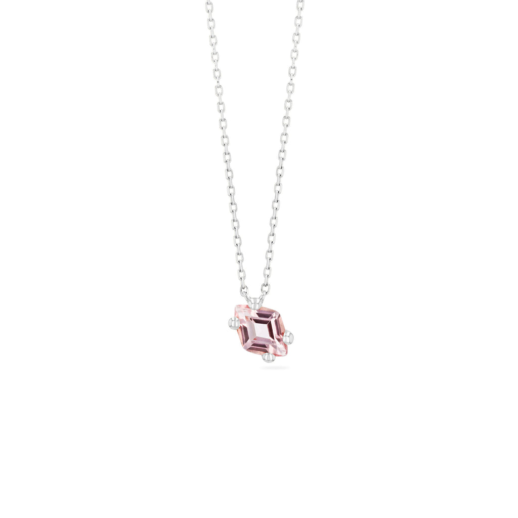 CRETE MORGANITE TOPAZ NECKLACE